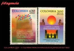 AMERICA. COLOMBIA MINT. 1994 IV CUMBRE IBEROAMERICANA DE JEFES DE ESTADO & GOBIERNO - Colombia