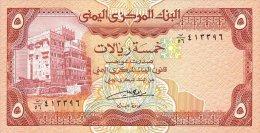 Yemen Arab Republic 5 Rials 1991 Pick 17c UNC - Yemen