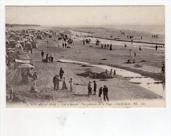 Dept 33,Gironde,Cpa Soulac Sur Mer,Vue Générale De La Plage à Marée Basse - Soulac-sur-Mer