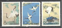 Chine : Yvert N° 1398/00**; MNH; Oiseaux; Birds; Vögel;   Grues - Nuovi