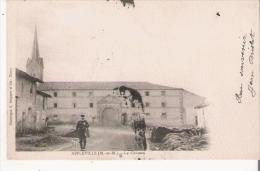 AFFLEVILLE (M ET M) LE CHATEAU (CHASSEUR ET CHIEN) 1904 - Sonstige Gemeinden