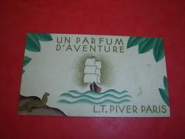 Calendrier 1935/1936 Un  Parfum  D Aventure LT Piver Paris - Small : 1921-40