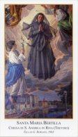 Treviso - Santino SANTA MARIA BERTILLA, Tela Di G. BORSATO (Chiesa Santa Andrea In Riva) - PERFETTO H81 - Religione & Esoterismo