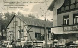 Allemagne RUSSELSHEIM Ruesselsheim  Waldrestaurant Zur Erholung Georg Peter LORENZ  ...G - Ruesselsheim