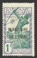 Inini, 1 C. 1932, Sc # 1, Mi # 1, MH - Inini (1932-1947)
