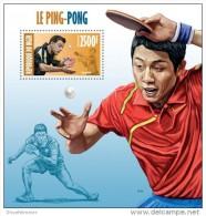 NIGER 2013 ** S/S Table Tennis Ping Pong Tischtennis Tennis De Table Mesa De Ping Pong Timo Boll A1347 - Tenis De Mesa