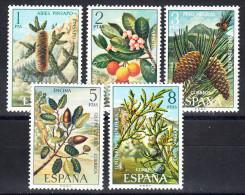 ESPAÑA 1972 EDIFIL Nº 2085/2089. FLORA   NUEVA SIN CHARNELA. SES130GRANDE - 1931-Hoy: 2ª República - ... Juan Carlos I