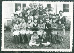 Photo, Trombinoscope Scolaire , Ecole De Fille De Montoire Sur Loir - Année 1953/54  - Lot6806 - Identifizierten Personen