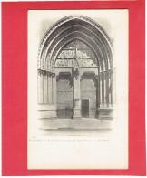 VANNES 1900 PORTAIL DE LA CATHEDRALE SAINT PIERRE CARTE EN TRES BON ETAT - Vannes