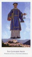 Colli A Volturno IS - Santino SAN LEONARDO ABATE - PERFETTO H81 - Religione & Esoterismo