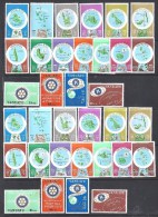 VANUATU - 4 Séries **   - N° 583 à 616 - Cote : 86,40 € - Vanuatu (1980-...)