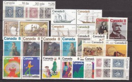 &&==CANADA==968==COLLECTION,lot Sets Xx MNH/Postfr/VF/Luxe,2 Scans,see More COLLECTIONS,all 1 Euro - Stamps