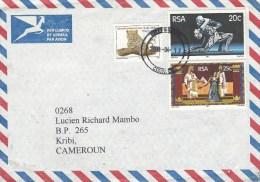 South Africa 2000 Knysna Arts Theater Danse Leopard Cat Cover - Zuid-Afrika (1961-...)