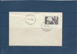 FRANCE    ENVELOPPE  QUINZAINE IMPERIALE  1942        SENS  YONNE  18/6/1942 - FDC