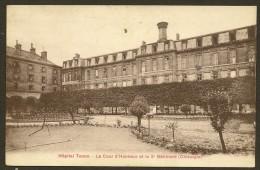 PARIS Hôpital Tenon Cour D'Honneur Et 3° Batiment Chirurgie (Breger) (75) - Santé, Hôpitaux
