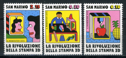 2014 - SAN MARINO - SAINT-MARIN - Rivoluzione Della Stampa 3D -  NH - (**) - New Mint - Saint-Marin