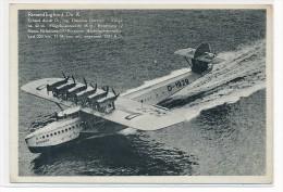 DOX Flugboot   Ungebraucht  -alte Karte   (da4337 ) Siehe Scan ! - Bateaux