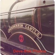 Railway Photo GWR 4079 Pendennis Castle Nameplate Great Western Envoy 1977 Tour Loco - Trains