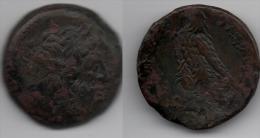+ Monnaie Romaine +  EGYPTE+  PTOLEMEE+ EVERGETE - 246 -221 Avant JESUS CHRIST + - 4. Autres Monnaies Romaines
