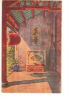 ASIE----VIET NAM---varangue De Pagode à Thudaumont---voir 2 Scans - Viêt-Nam