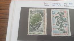 LOT 252841 TIMBRE DE COLONIE TAAF NEUF** N�52/53 VALEUR 14,5 EUROS