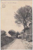 24823g RUE De La WERYQUE - Waremme - 1913 - Borgworm
