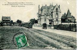 """N°5784A -cpa Lion Sur Mer -la Brèche """"villa Hermanvillette"""" - Autres Communes"""