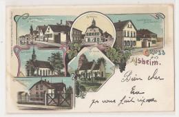 Allemagne - Germany - Gruss Aus Alsheim , Verlag V .carl Scheuermann , Worms , Lutherplatz - Allemagne