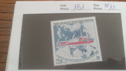 LOT 252854 TIMBRE DE COLONIE TAAF NEUF** N�181