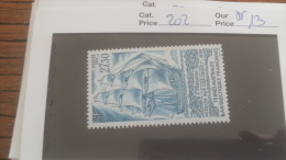 LOT 252857 TIMBRE DE COLONIE TAAF NEUF** N�202