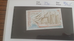 LOT 252859 TIMBRE DE COLONIE TAAF NEUF** N�230