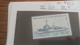 LOT 252864 TIMBRE DE COLONIE TAAF NEUF** N�267