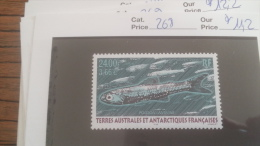 LOT 252865 TIMBRE DE COLONIE TAAF NEUF** N�268