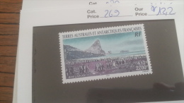 LOT 252866 TIMBRE DE COLONIE TAAF NEUF** N�269
