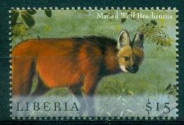 "Liberia 2000 "" Hors Série Feuillet - Loup / Wolf  "" Mnh*** - Stamps"