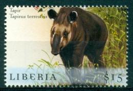 """Liberia 2000 """" Hors Série Feuillet - Tapir """" Mnh*** - Stamps"""