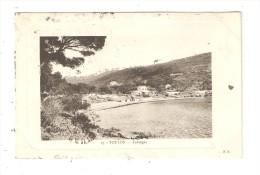 CPA : 83 - TOULON  : Fabrégas : Anse - Maisons - Léger Relief - Toulon
