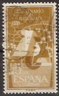 España U 1180 (o) Telegrafos. 1955 - 1951-60 Gebraucht