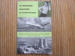 1958 Guide Dépliant Touristique De Grande Bretagne UK - GB - British WELCOME Royaume Uni Les Réalisations Industrielles - Tourism Brochures