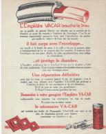 Pneus/Emplâtre  VA-CAR/ Richard /Les Avertisseurs Simplicorne Et Simplipompe/Levallois-Perret/Vers 1930    VP710 - Cars