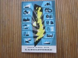 1958 Guide Dépliant Touristique De Grande Bretagne UK - GB - British WELCOME Royaume Uni Coup D'oeil Sur L'Angleterre - Tourism Brochures