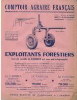 Agriculture/ Comptoir Agraire Français/Exploitants Forestiers/Brive La Gaillarde/Corréze/Vers 1950 VP711 - Agriculture
