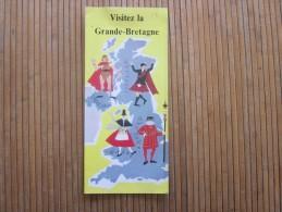1958 Guide Dépliant Touristique  Visitez La  Grande Bretagne UK - GB - British Royaume Uni Angleterre - Tourism Brochures