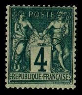 France N°63 - Très Légère Trace De Charnière. TB - 1876-1878 Sage (Type I)