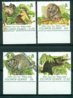 Salomon / Solomon : Les 4 Val. Coucous Gris Mnh*** - Stamps