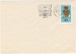 GERMANIA - GERMANY - Deutschland - ALLEMAGNE - 1975 - 25 Jahre Jumelage De Montbéliard Et Ludwigsburg - 10 Tag Der Br... - Montbéliard