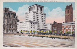 BALTIMORE, Maryland, 1900-1910's; Municipal Office Building - Baltimore