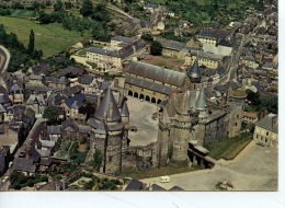 Vitre : Porte De La Bretagne : Le Château Fort - Vue D'ensemble Prise Du Sud (n°106 Artaud Aérienne) - Vitre