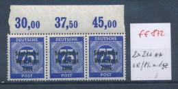 SBZ Nr. 3x 210   OR   **     (ff  872  ) Siehe Scan ! - Sowjetische Zone (SBZ)