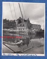 Photo Ancienne - HONFLEUR - La Lieutenance - Photo Prise à Bord D'un Bateau - Calvados - Bateaux